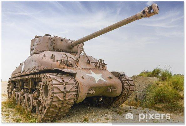 Plakat Sherman Tank - Tematy