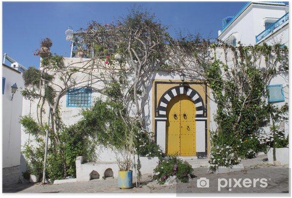 Plakat Sidi Bou Said, Tunezja - Wakacje