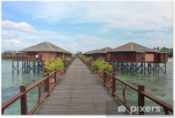 Plakat Sipdan wody Village Resort - Wakacje