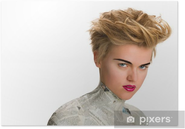 Plakat Siri włosy moda strzał 1 - Przeznaczenia