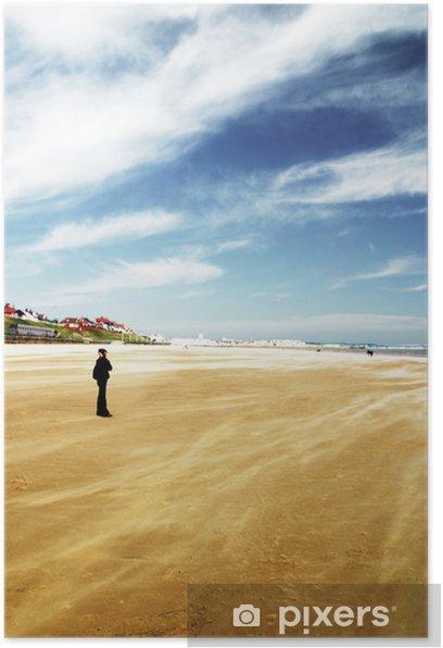 Plakat Skegness - windswept beach - Cuda natury