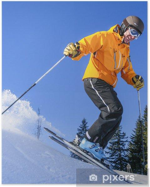 Plakát Ski Alpin v Grasgehren - Individuální sporty