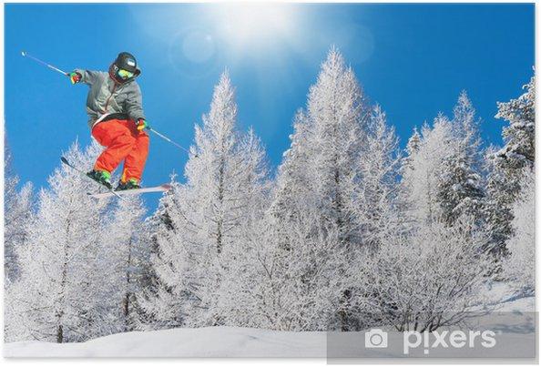 Plakat Ski fun - Narciarstwo