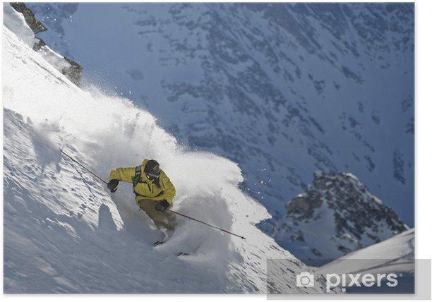 Plakat Ski hors punkt - Sporty indywidualne