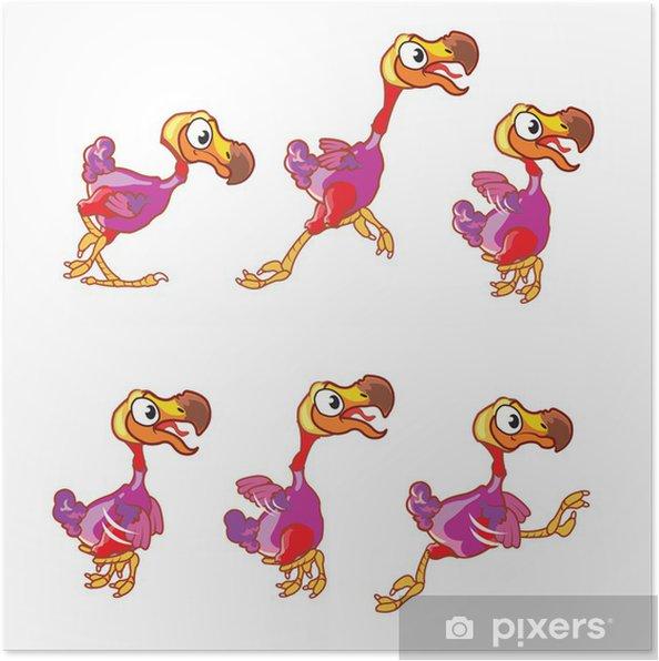 Plakat Skoki dodo animacji sprite - Sukces i osiągnięcia