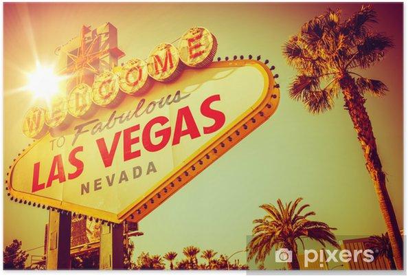Plakát Slavný Las Vegas Nevada - Las Vegas