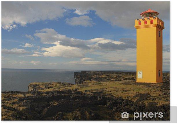 Plakat Snæfellsnes - Öndverðarnes Lighthouse - Europa