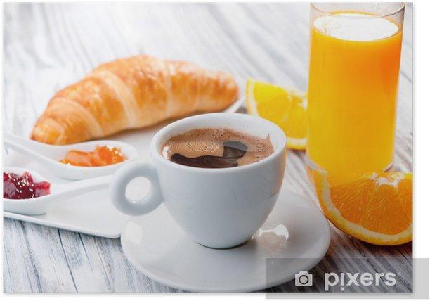 Plakat Śniadanie kontynentalne - Tematy