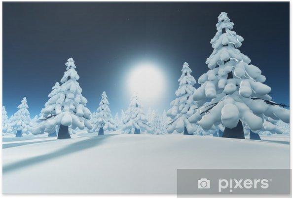 Plakat Śnieg las - Tematy