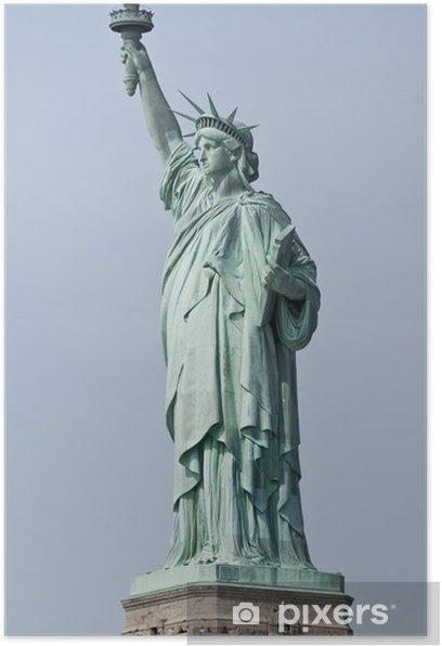 Plakát Socha Svobody - New York - Památky