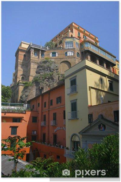 Plakat Sorrento, Włochy - Europa