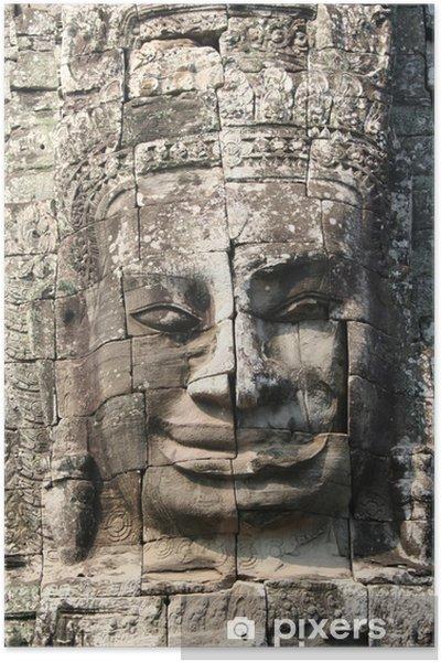 Plakát Sorriso Enigmatico del Buddha ad Angkor Wat - Památky