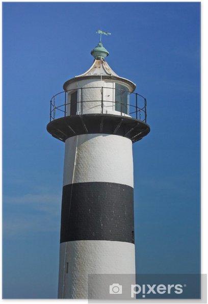 Plakat Southsea latarnia morska, Portsmouth - Latarnia morska