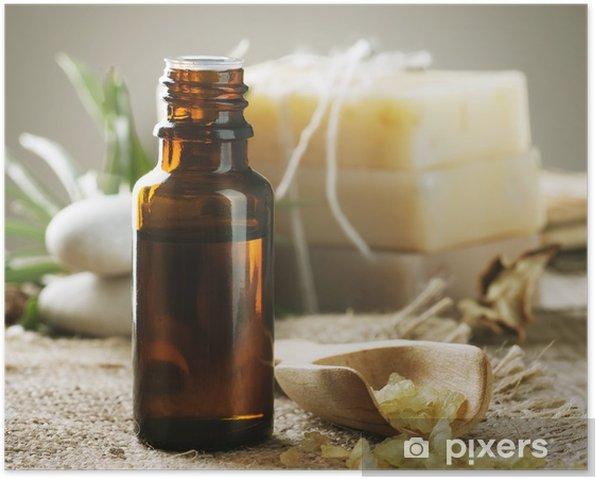Plakat Spa leczenie. Aromaterapia. Essence. - Uroda i pielęgnacja ciała