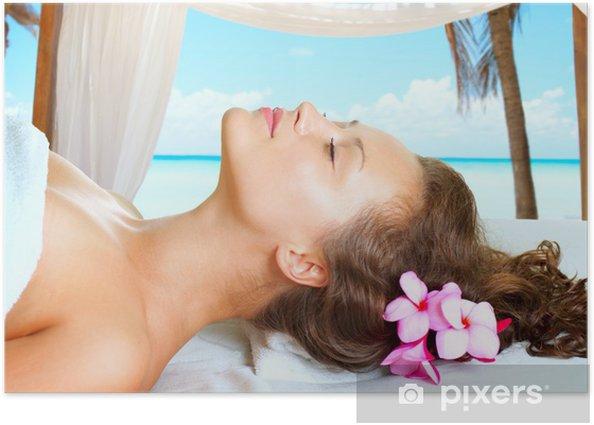 Plakat Spa - Uroda i pielęgnacja ciała