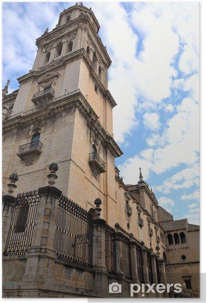 Plakát Španělská katedrála v městě Jaen - Jiné