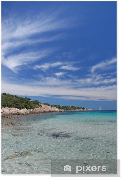 Plakát Spiaggia del relitto, Isola Caprera, Sardegna - Ostrovy
