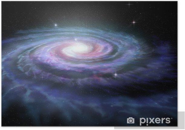 Plakat Spiral Galaxy Milky Way - Wszechświat