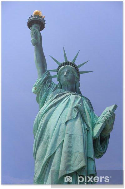 Plakát Spojené státy americké - Statue of Liberty - Památky