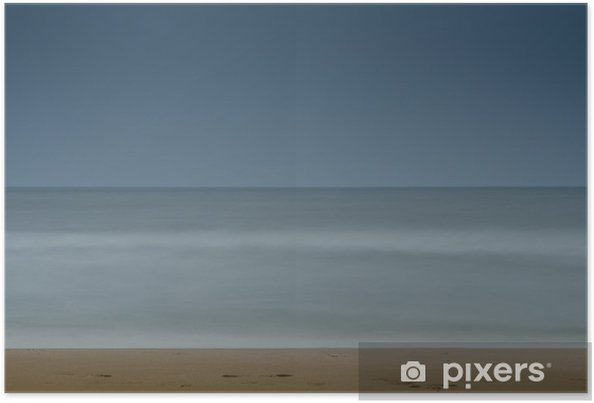 Plakat Spokojne morze - Krajobrazy
