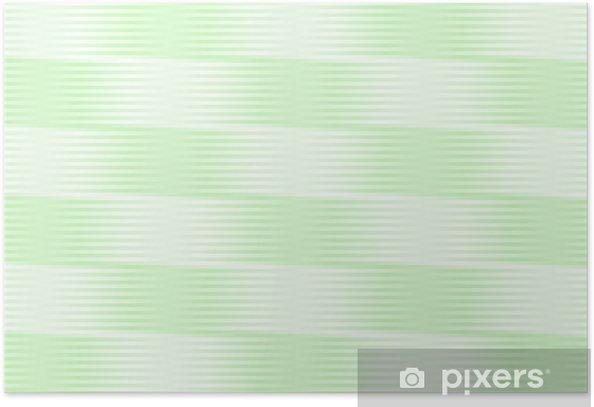 Plakat Spring Green Wiatr - Pory roku
