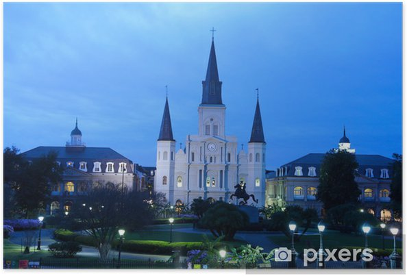 Plakat St. Louis Cathedral - Inne