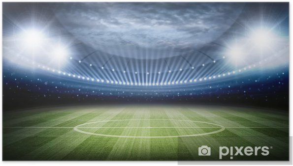 Plakat Stadion - Football amerykański