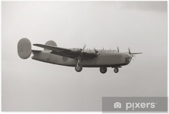 Plakát Staré bombardér - Vzduch