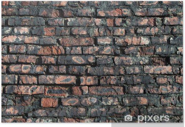 Plakát Staré červené cihlové zdi - Témata