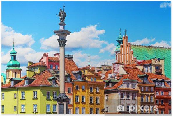 Plakat Stare Miasto w Warszawie, Polska - Tematy