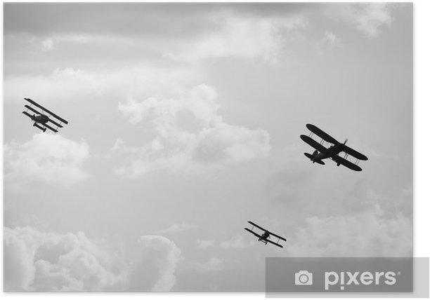 Plakat Stare samoloty - Tematy