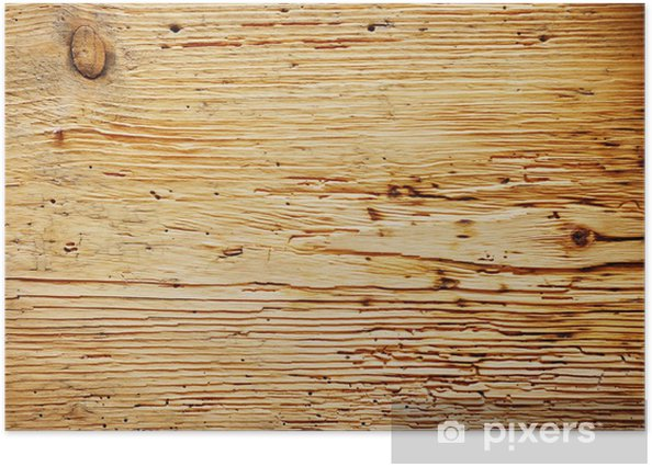 Plakat Stare tło drewna - Sklepy