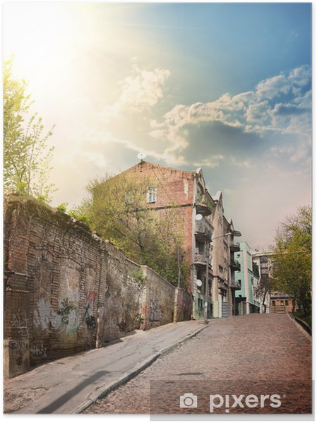 Plakat Staroświecki dom - Zabytki
