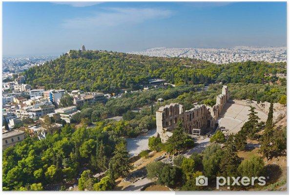 Plakat Starożytne Ateny - Europa