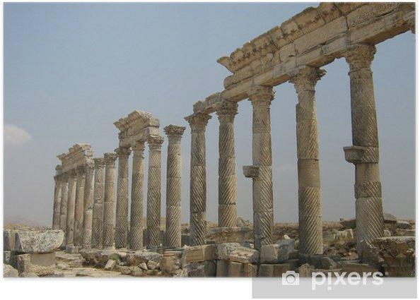 Plakat Starożytne kolumny - Tematy