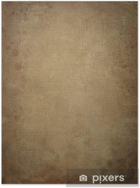 Plakat Starożytny papirus tle - Tekstury