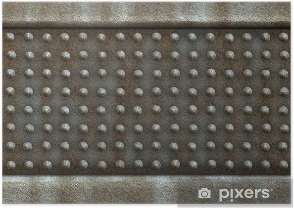 Plakát Starý ocelový nosník - Těžký průmysl