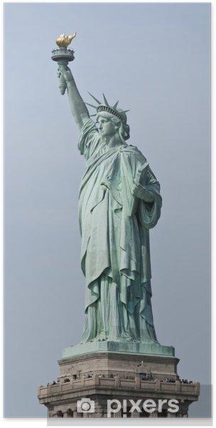Plakat Statua Wolności, Nowy Jork - Zabytki