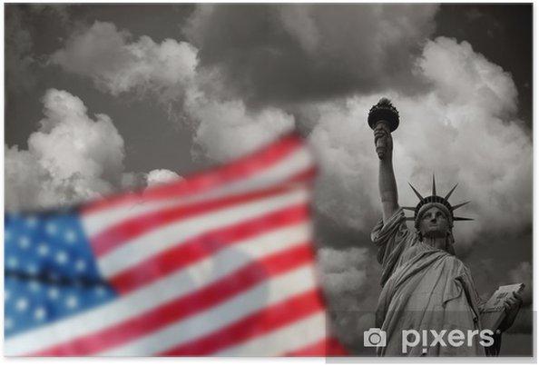 Plakat Statua Wolności w Nowym Jorku USA - Ameryka