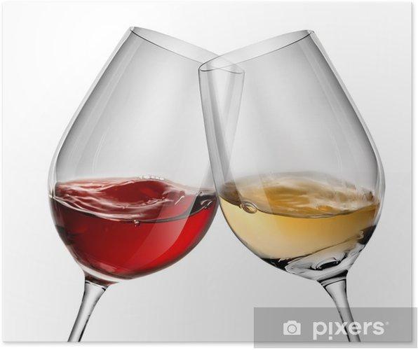 Plakát Stěhování víno ve dvou skleničky - Témata