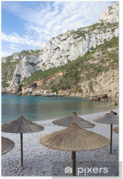 Plakat Steiküste z plaży - Wakacje