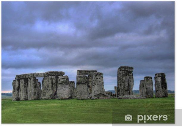 Plakat Stonehenge - Europa