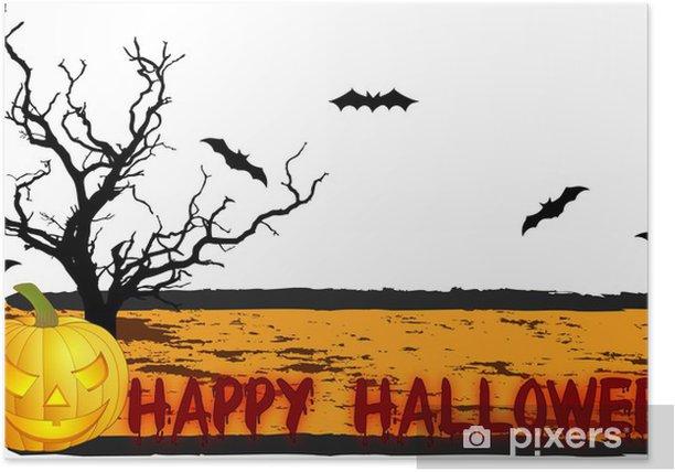 Plakat Straszny halloween background - Inne uczucia