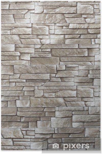 Plakat Streszczenie tle tekstury kamienie dekoracyjne - Tematy
