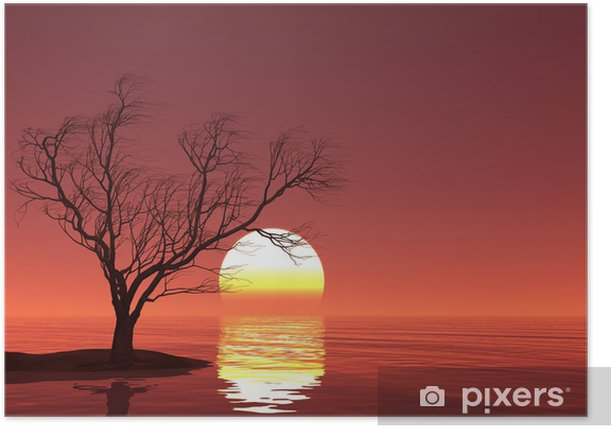 Plakát Stromek - Nebe