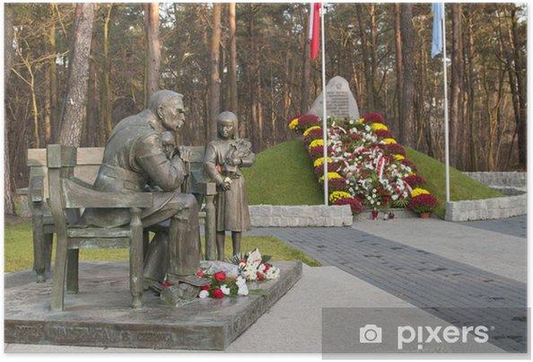 Plakat Sulejówek - Pomnik Józefa Piłsudskiego - Wakacje