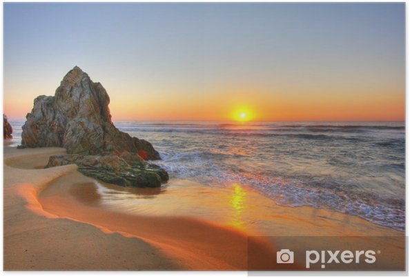 Plakat Sunrise rocks - Tematy
