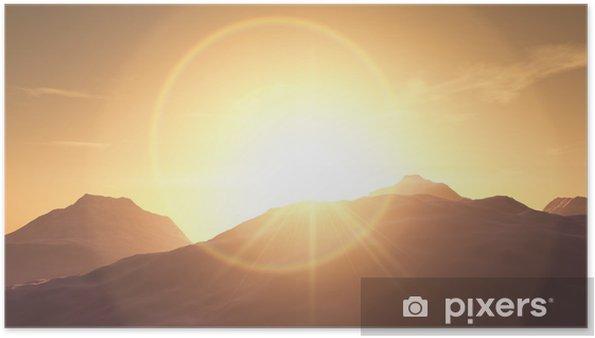 Plakát Sunrise - Nebe