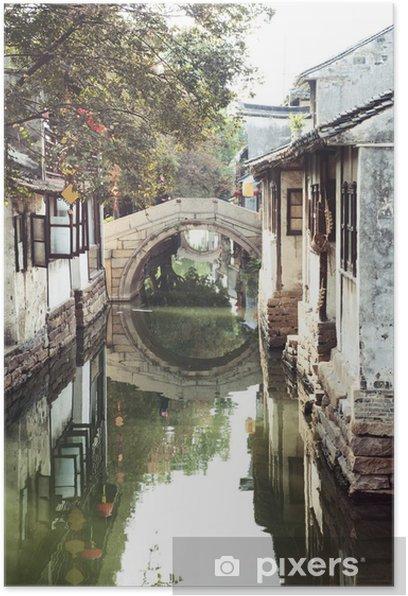 Plakat Suzhou Canal - Criteo