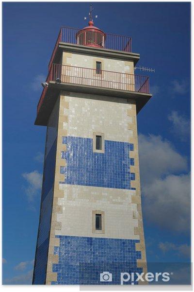 Plakat Świętym światłem Marta, Cascais, Portugalia - Miasta europejskie